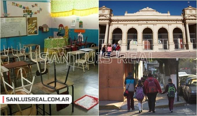 Comienza el receso escolar de invierno en las escuelas de San Luis