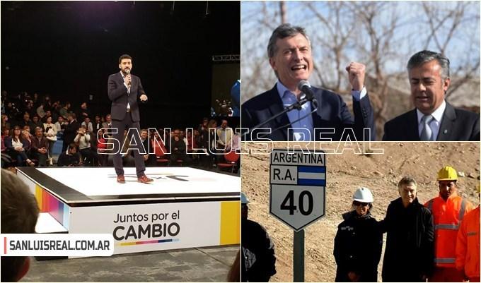 Cacace abrió el acto de Juntos por el Cambio en Mendoza junto al presidente Macri