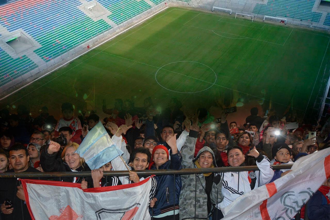 Cuenta regresiva para el partido: River y Gimnasia de Mendoza se enfrentan por un lugar en los octavos de final