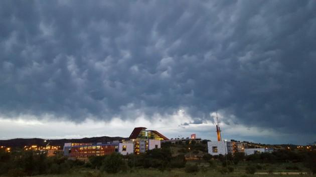 Las nubes serían las protagonistas del fin de semana