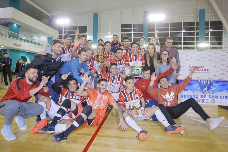 El futsal de la Liga Sanluiseña se definió en el Campus de la ULP