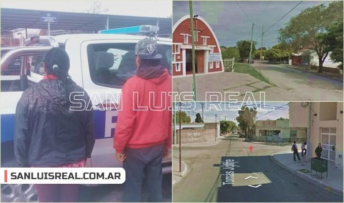 """San Luis: Detenidos por """"hacer de cuerpo"""" en calle Tomás Jofré"""