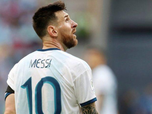 Conmebol: Messi recibiría entre dos y seis meses de sanción