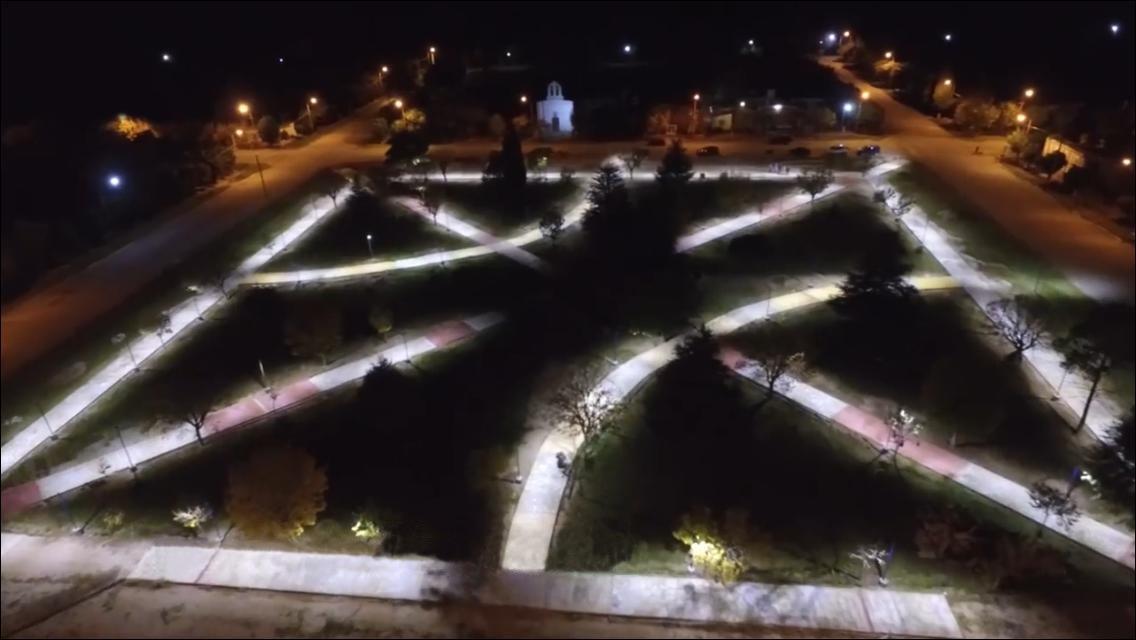 El espacio recreativo de San Pablo está en su etapa final