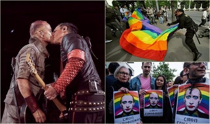Rusia: Acusan a Putin de ser homofóbico y desafían sus leyes