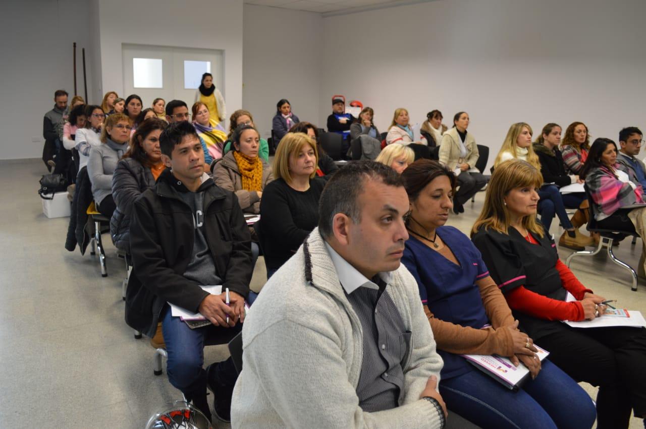 Capacitaron a personal de la salud de los departamentos Junín y Chacabuco en inmunización