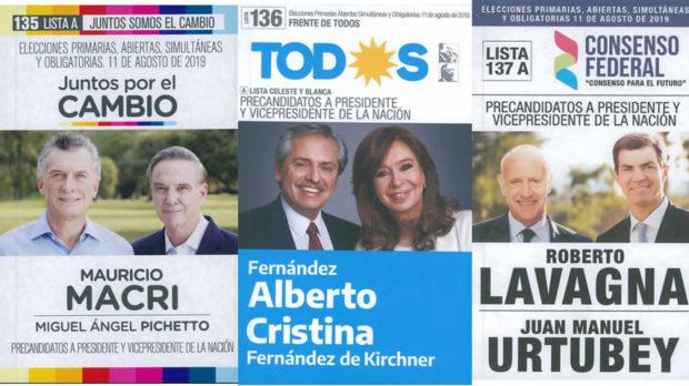 Quiénes son los 10 precandidatos que aspiran a la presidencia de Argentina