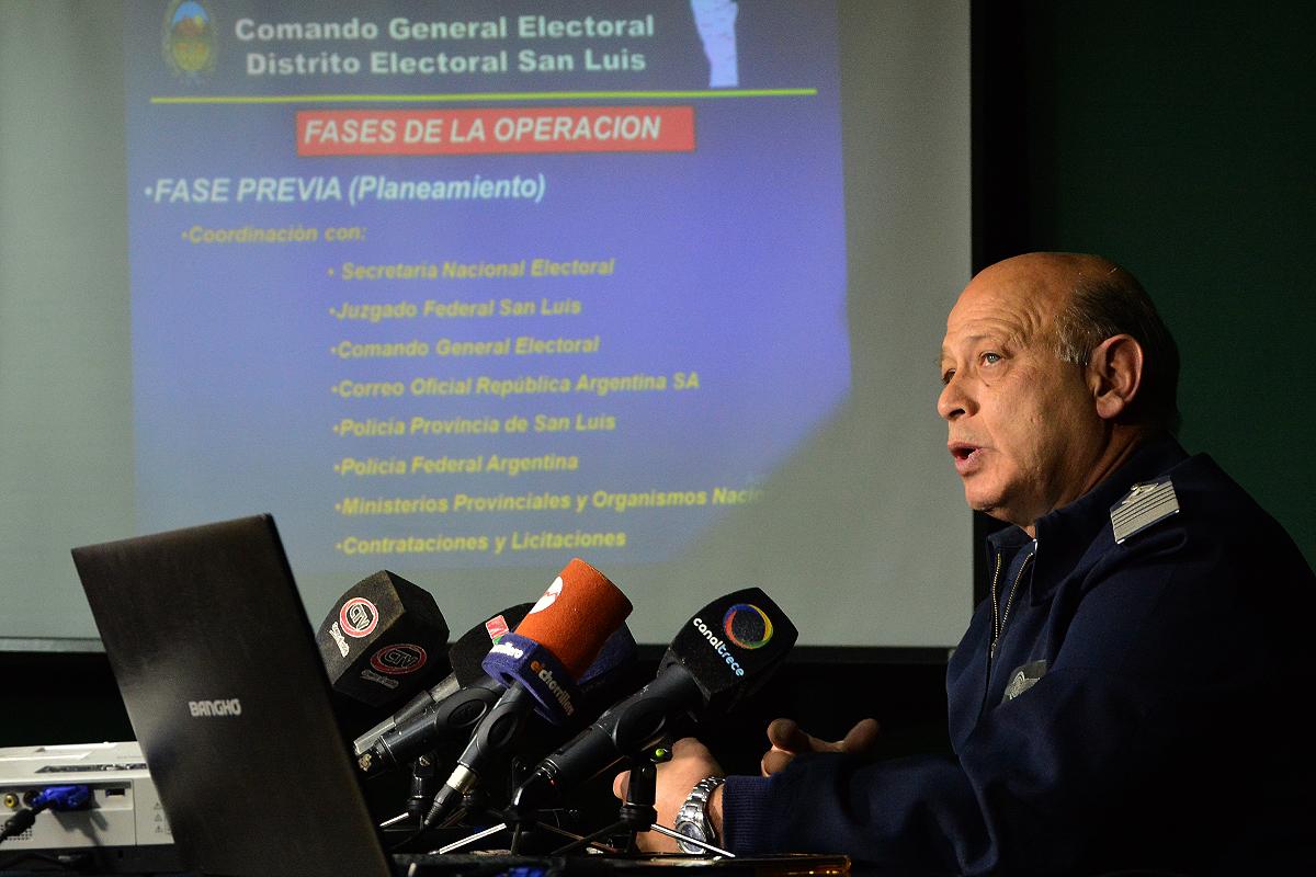 Más de 2 mil efectivos custodiarán las elecciones del domingo