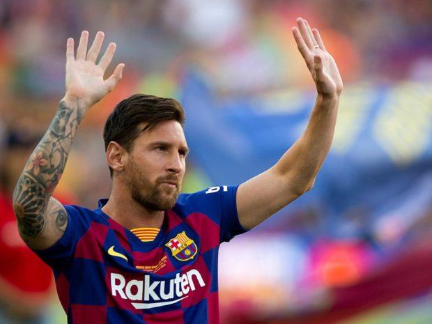 """Messi recordó a Brown como """"un referente de nuestro fútbol"""""""