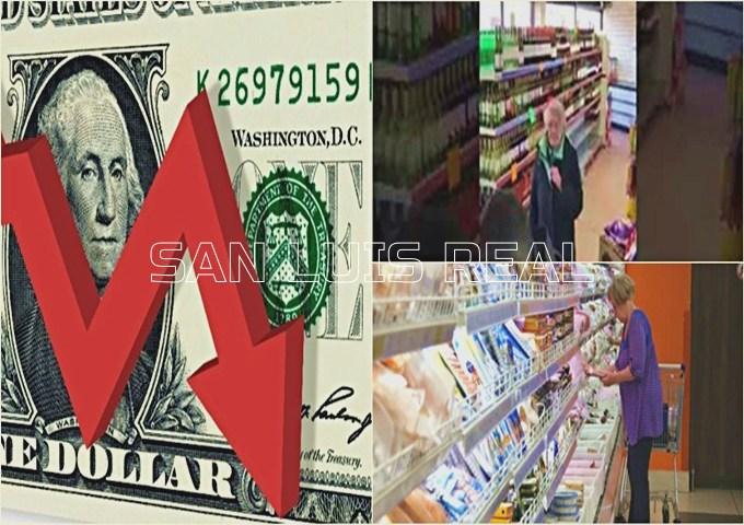 Economía: el dólar bajó $2,45