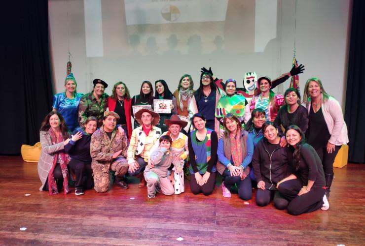 Más de 250 niñas y niños brillaron en la 13ª Jornada de Intercambio Teatral de Nivel Inicial