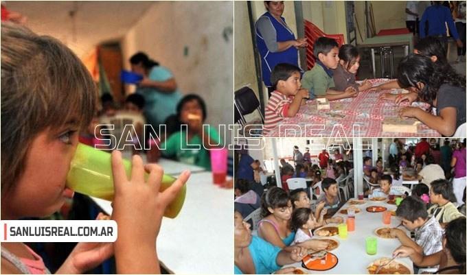 Solidaridad: recolectan alimentos para comedores barriales de San Luis