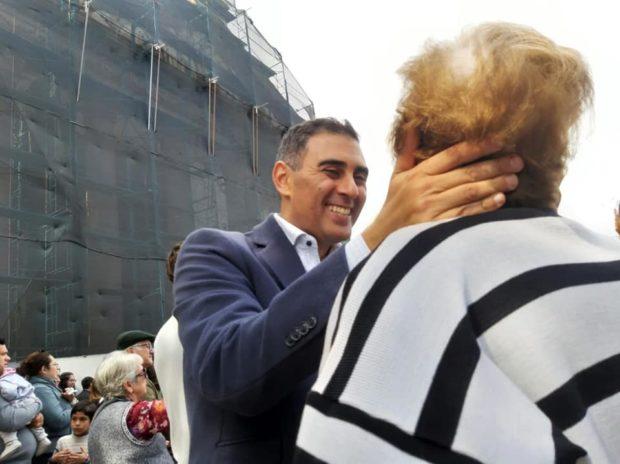 """Gastón Hissa: """"Le pedí a San Luis Rey por la unidad el trabajo y la salud de todos  los puntanos"""""""