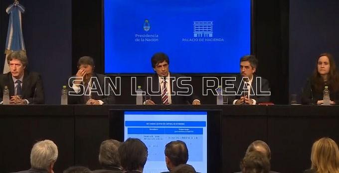 """Hernán Lacunza: """"Hemos propuesto al FMI iniciar el diálogo para reperfilar los vencimientos de deuda"""""""
