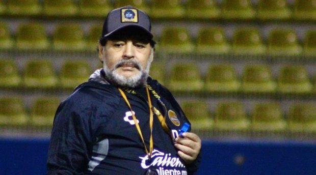 Diego Maradona rechazó dirigir a Gimnasia y Esgrima de La Plata