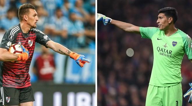El joven Scaloni duda: ¿Armani o  Andrada en el arco de la Selección?