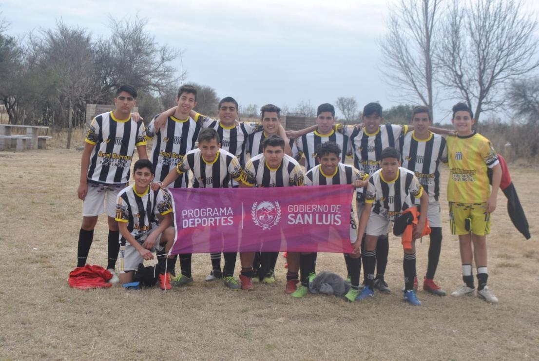 Juegos Evita: se definieron los ganadores de fútbol 11 del departamento Chacabuco