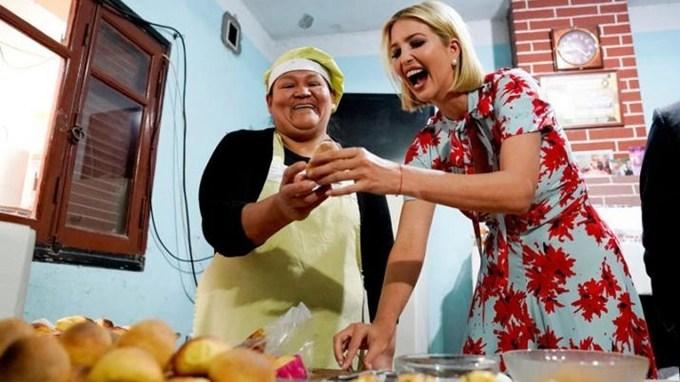 La hija de Donald Trump llegó a Jujuy y revolucionó la provincia