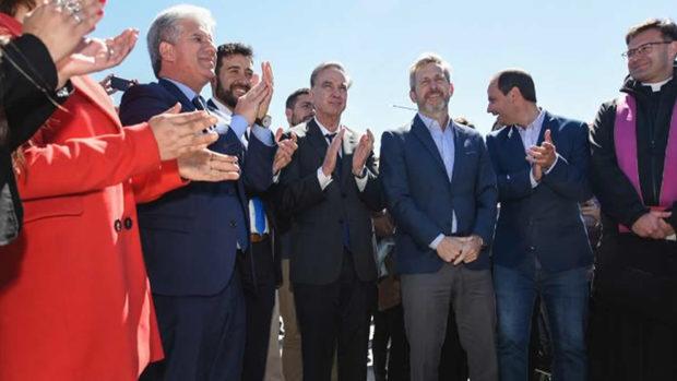 Pichetto y Frigerio inauguraron obras en la ciudad de La Punta