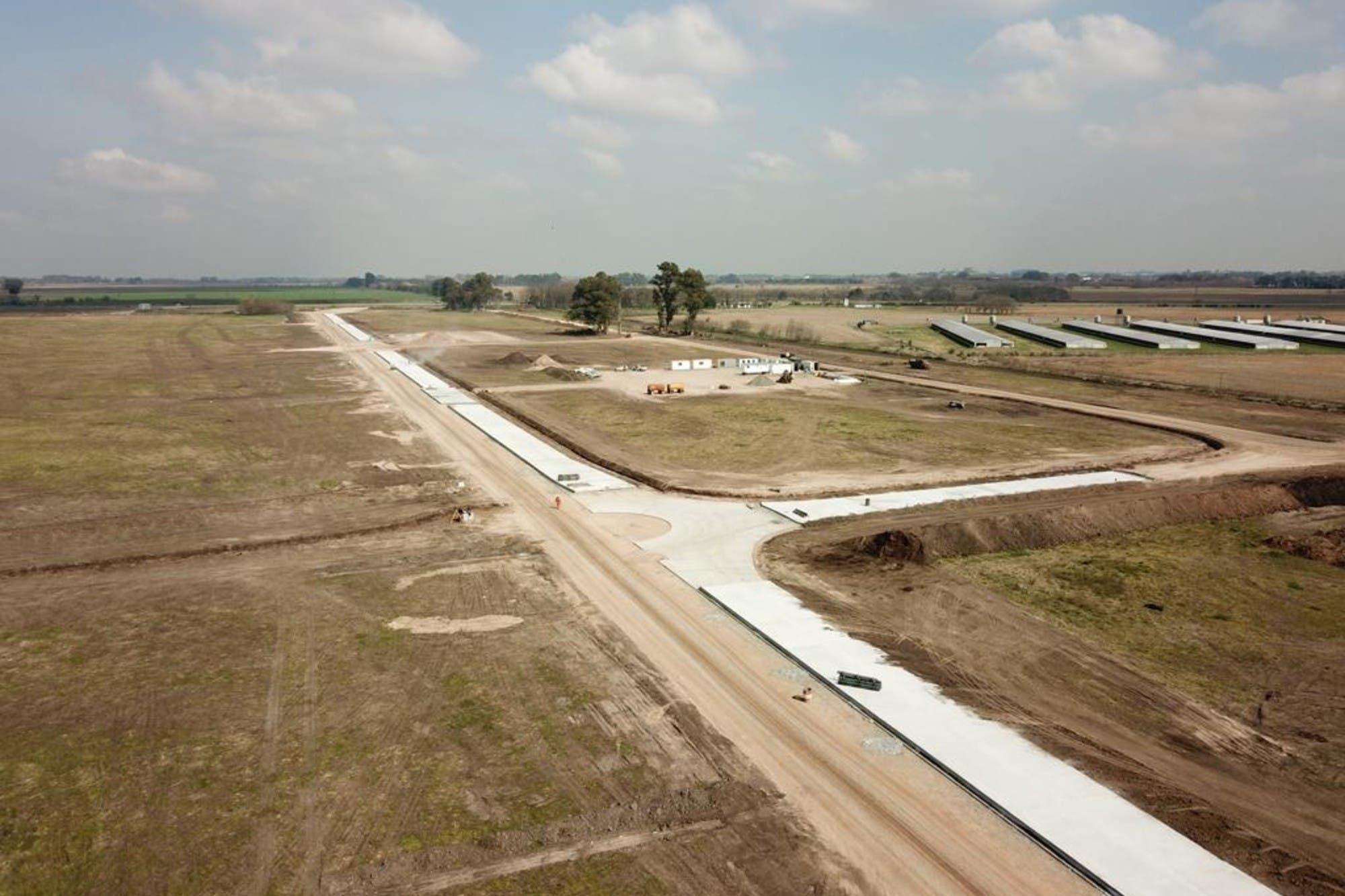 Avanzan las obras del nuevo Mercado Agroganadero de Cañuelas