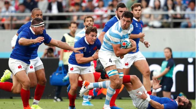 Mundial rugby: los Pumas perdieron en su debut
