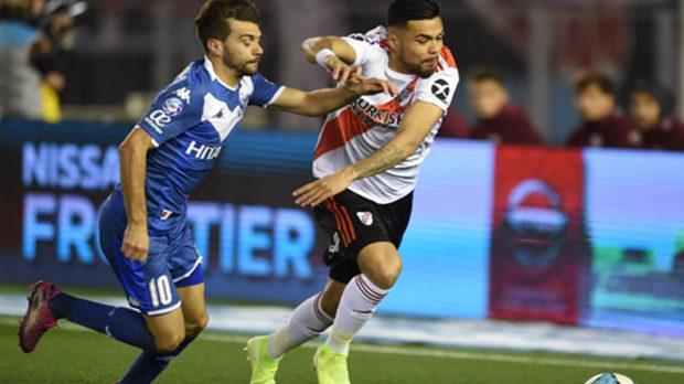 River perdió 2-1 ante Vélez en el Monumental