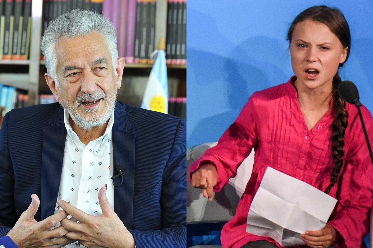 El gobernador Alberto Rodríguez Saá manifestó su admiración por la joven activista Greta Thunberg
