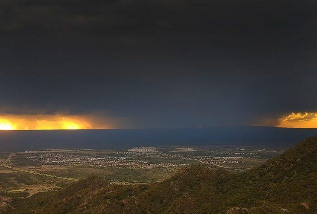 Las lluvias de octubre fueron las más bajas en 4 años
