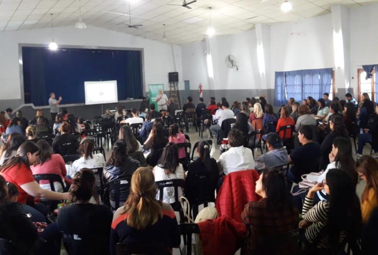 Docentes de Concarán y Santa Rosa aprenderán sobre chagas, dengue, zika y chikungunya