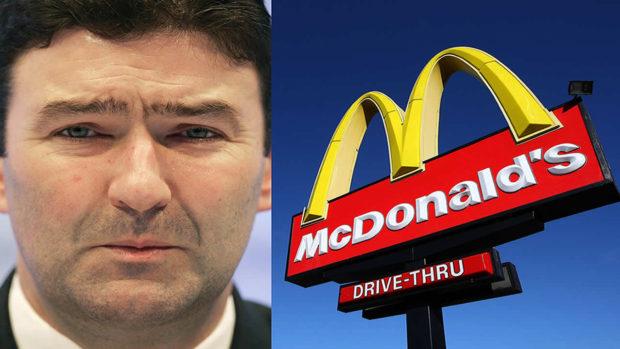 Despidieron al CEO de McDonalds por mantener un noviazgo con una empleada