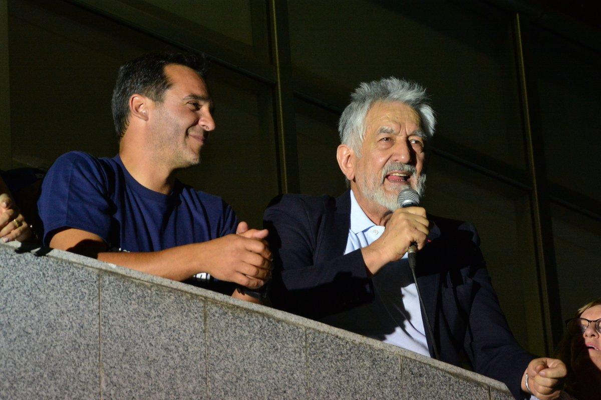 """Alberto Rodríguez Saá: """"Sergio, dejame soñar que vamos a trabajar juntos para que San Luis sea una ciudad grande"""""""