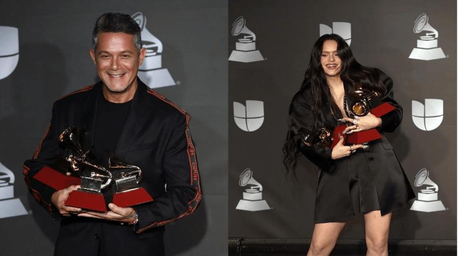 Rosalia y Alejandro Sanz, los grandes ganadores de los Latin Grammy