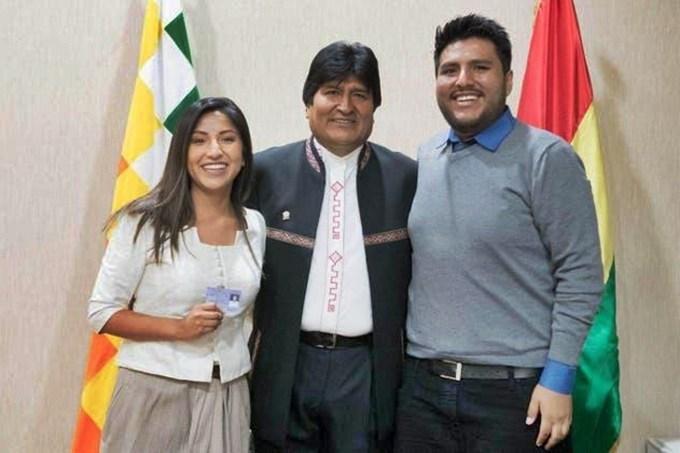 Los hijos de Evo Morales arriban de Bolivia a la Argentina