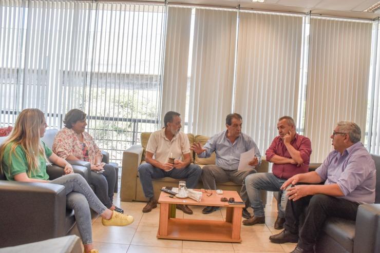 Diálogo entre el Ejecutivo provincial y legisladores de Chacabuco para el desarrollo productivo del departamento
