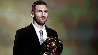 Leo Messi, la leyenda: ganó el Balón de Oro por sexta vez y superó a Cristiano Ronaldo