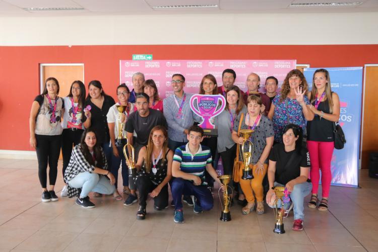 Ministerio de Educación, el gran ganador de 2019 de los Juegos Deportivos de Servidores Públicos