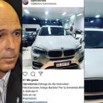CASUALIDAD   El diputado Abdala votó a favor de Rodríguez Saá y al otro día se compró una hermosa BMW