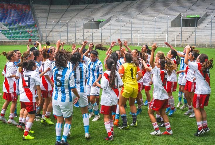 River y Racing se quedaron con todo en la Liga de Desarrollo de fútbol femenino