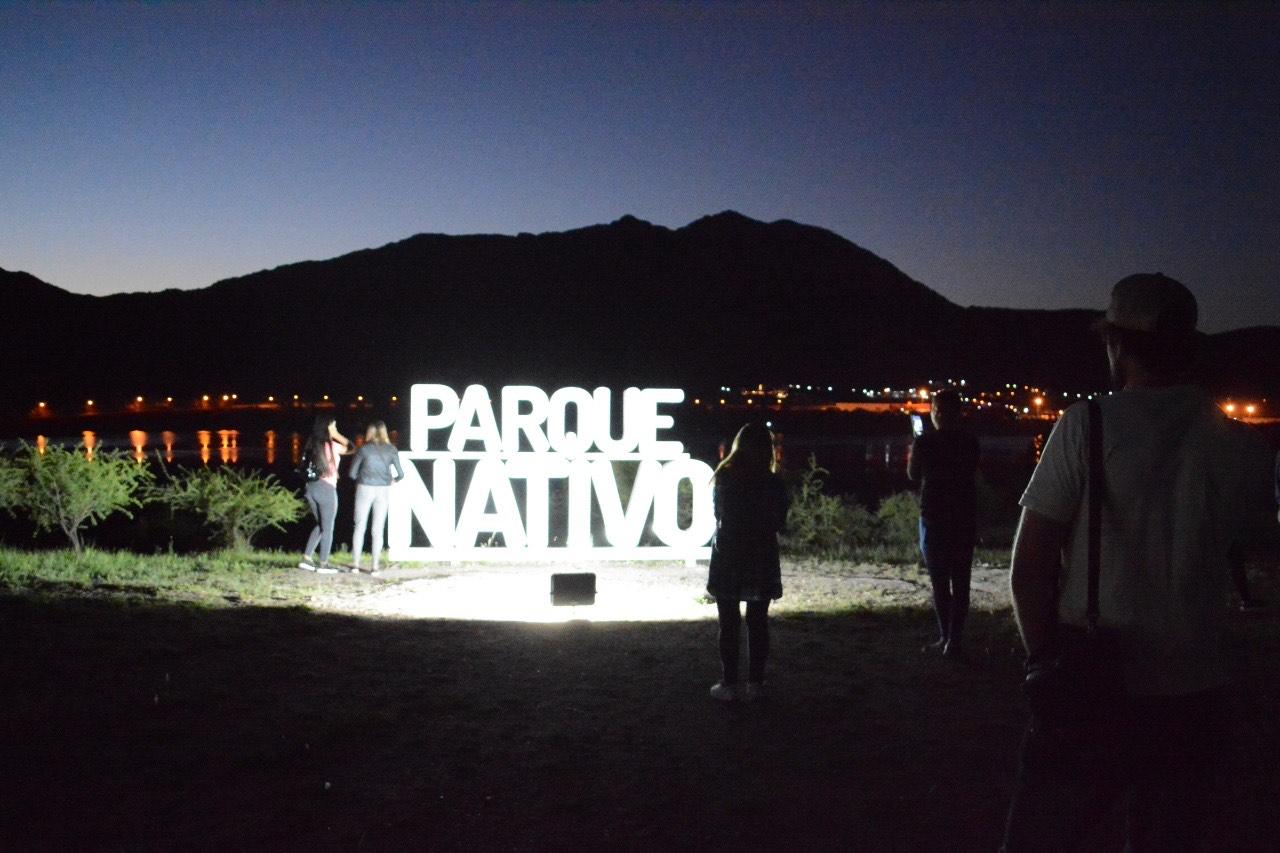 Mejora en el espacio recreativo: inauguraron la iluminación led en el Parque Nativo