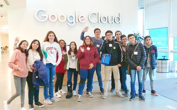 Los Mega Programadores visitaron IBM y Google