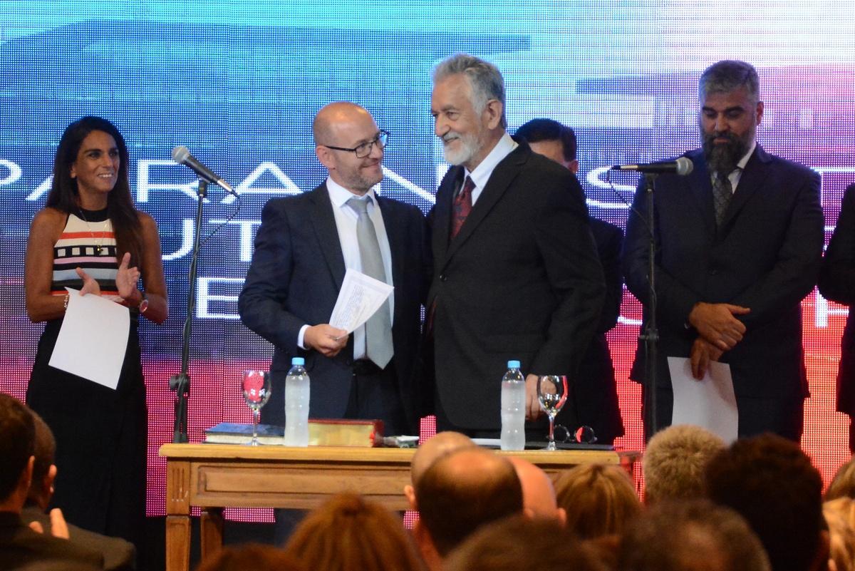 """Eloy Horcajo: """"El gobernador nos pidió mantener los principios de la administración pública provincial"""""""