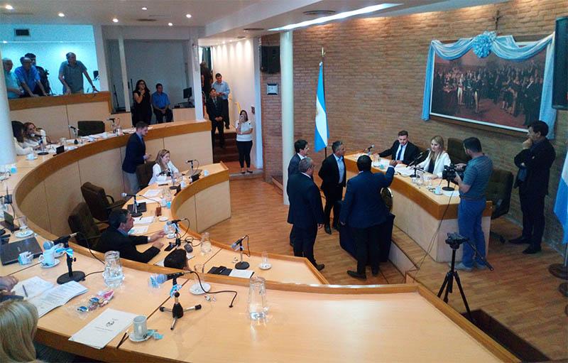 Concejo: El merlismo quedó en minoría con un bloque de tres miembros
