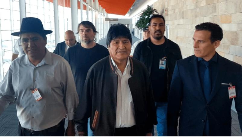 Evo Morales está en Argentina como refugiado político