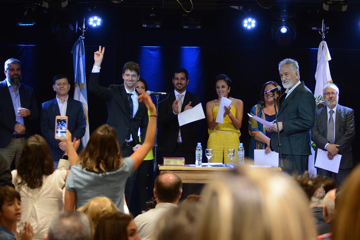 Con una marcada renovación generacional, asumieron nuevas autoridades del Gabinete provincial