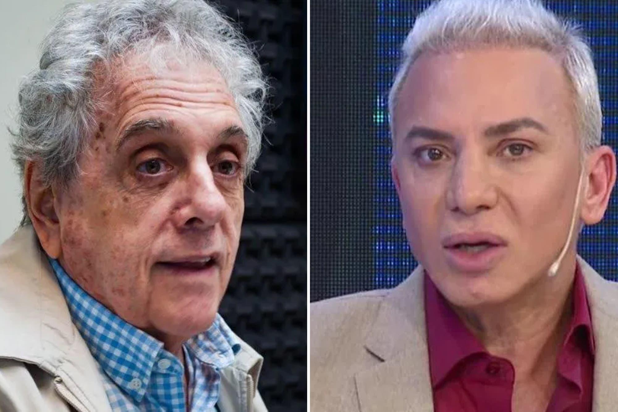 """Flavio Mendoza furioso con Gasalla: """"si atacás a mi hijo te voy a seguir hasta la tumba"""""""