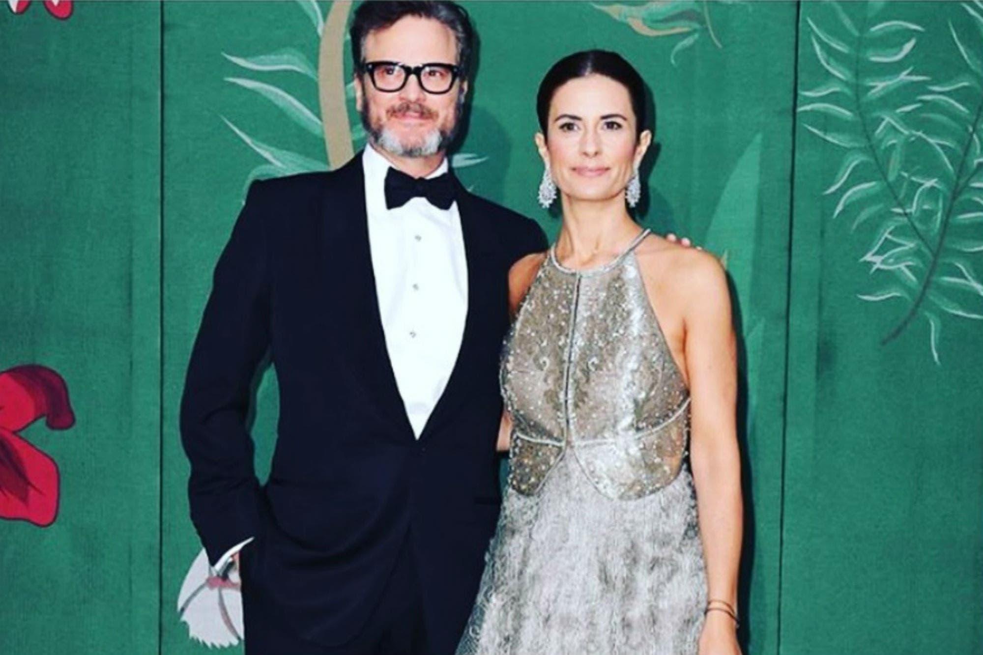 Después de 22 años de casados, Colin Firth se separó de su mujer