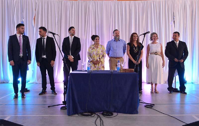 Frontera tomó juramento a los ocho secretarios que integran su Gabinete