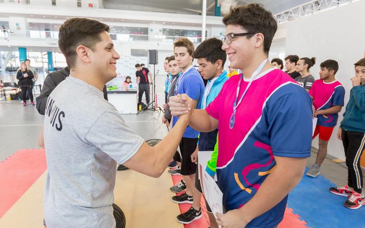 Un pesista del Campus de la ULP competirá en la final nacional