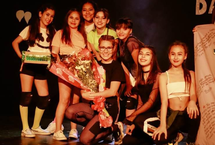 """""""Queen Dancer Company"""" realizó su gala en el Molino Fénix"""