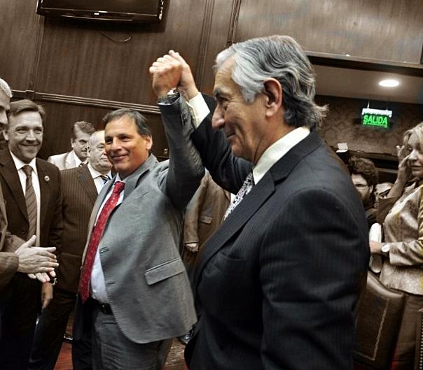 El pacto Ponce – Rodríguez Saá permitió sacar el boleto gratuito a discapacitados, jubilados y estudiantes